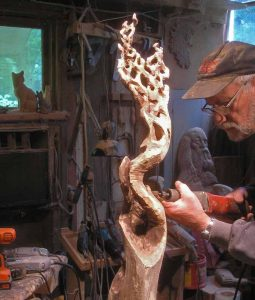 Wood Sculpture Jerry Ward