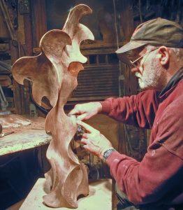Freebird Jerryward sculpture